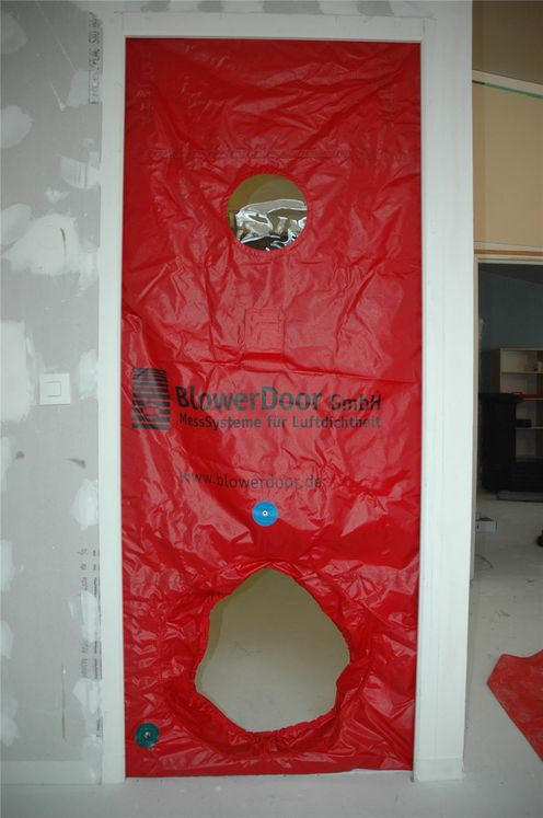 BlowerDoor Panel plus with 1 opening for BlowerDoor Minneapolis system