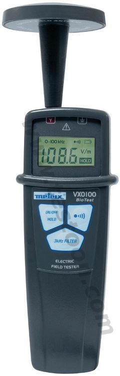 Low frequency electrical field meter, 5Hz to 100kHz