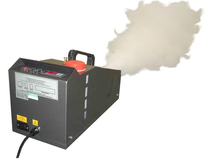 Smoke Machine 720 m3/min for big buildings, wireless remote control