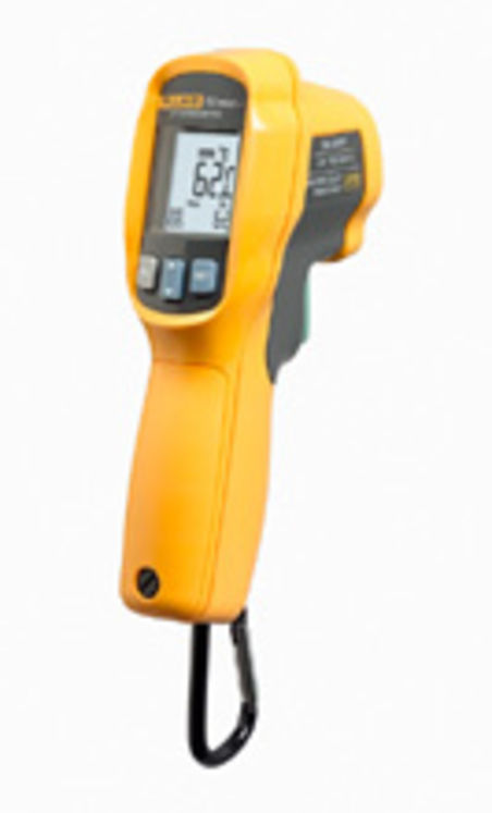 Infrared Thermometer, -30 °C to +650 °C, ±1.0 °C, 12:1, double laser beam
