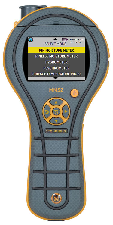 Moisture meter, 8-99%RH, hygrometry, ambient & surface temperature, dew point