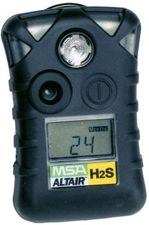 2 Years Disposable H2S Gas Detector 0-100ppm, vibrating alarm