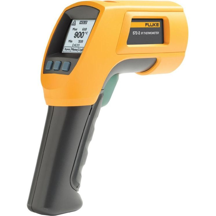 infrared thermometer -30°C to 900°C, 60/1, double laser beam, Input for type K probe