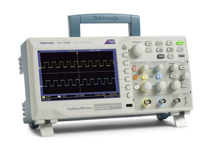 Digital oscilloscope, 2 channels, 150MHz, 2GS/s, 2.5kpts