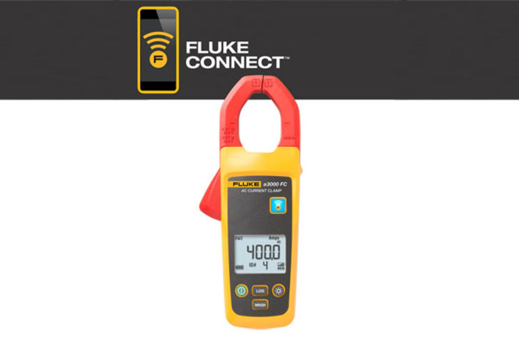 a3000 FC (Fluke Connect) Wireless AC Current Clamp Module