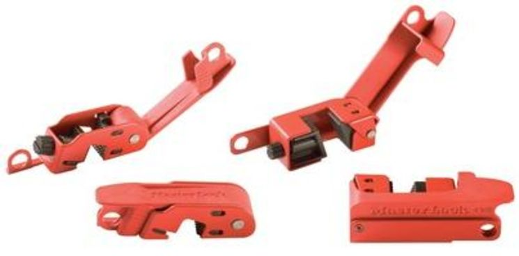 Locking for grip tight (high & large) circuit breaker