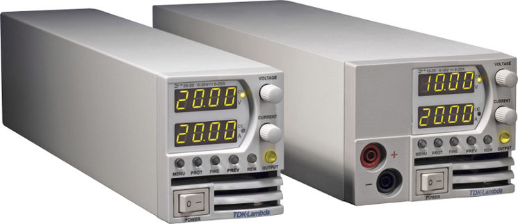 Single channel DC programmable power supply, 200W, jusque 650V & 20A, Rackable (option), 2U