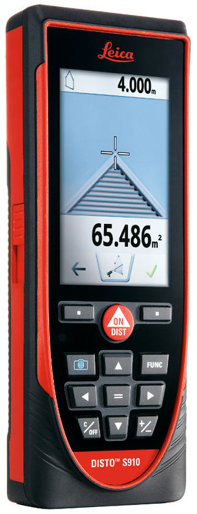 New: Distancemeter/inclinometer 300m, DXF, P2P, Bluetooth, Wi-FI, touch-screen