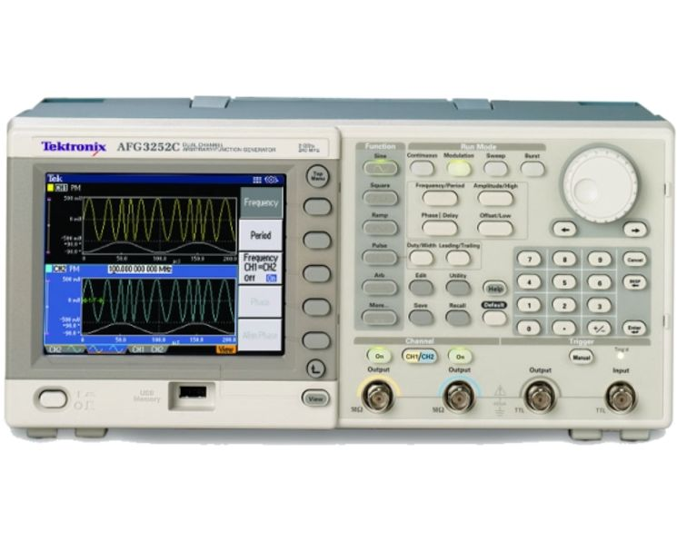 Arbitray function generator, 1 channel, 150MHz, 16/128kpts, 250M/1GS/s, 14 bits