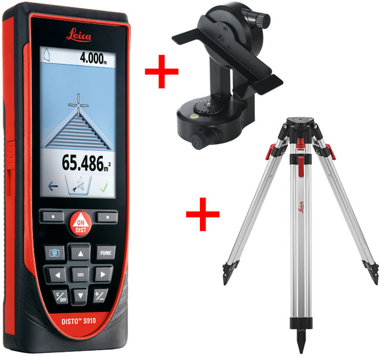 Kit S910 -Distancemeter with DXF files, Wi-Fi - FTA360-S and TRI200