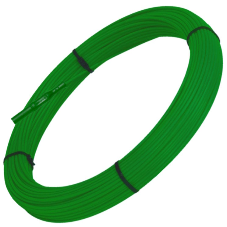 Replacement 50m vert 0.75mm² PVC cord for Enromalin 50m v2