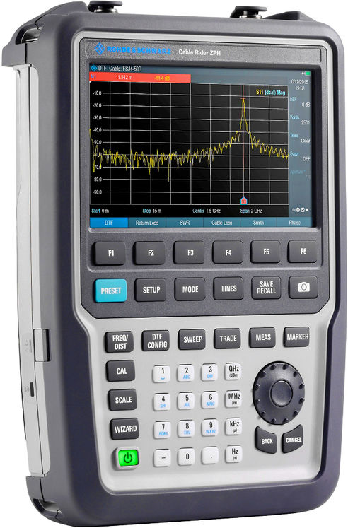 Hand-held Cable & Antenna Analyzer, 2MHz-3GHz (4GHz in option)