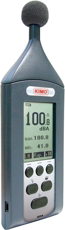 Class 2 integrator sound level meter, 30-130 dB, LA measurement