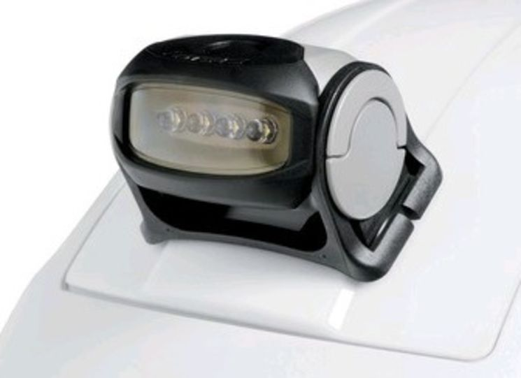 Front/head lamp with 4 LEDs, for TC42ES